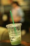 Emtry frappe zielona herbata Obrazy Stock