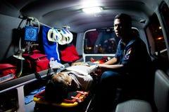 EMTs volontario Fotografia Stock Libera da Diritti