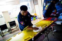 EMTs voluntario Fotografía de archivo