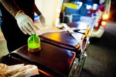 EMTs voluntario Fotografía de archivo libre de regalías