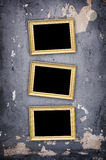 Emty frames Stock Photography