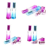 Emty Perfumes bottle Stock Photography