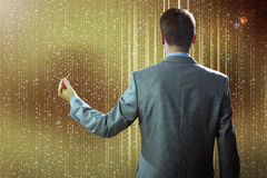 emty pojęcie obłoczny komputerowy target1589_0_ ekran Zdjęcie Stock