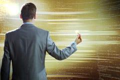 emty pojęcie obłoczny komputerowy target1589_0_ ekran Zdjęcia Stock