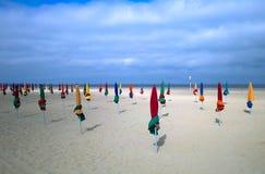 Emty strand Royaltyfri Foto