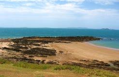 Emu-Park-Strand, Australien Stockfoto