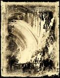 Emulsión manchada de la película Imagen de archivo libre de regalías