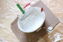Emulsion paint Royalty Free Stock Image