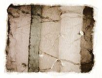 emulsionpolaroid Arkivbilder