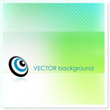 Emv bullseye on Vector Background Stock Photo
