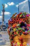 En älskvärd eftermiddag i Mexiko - stad arkivfoton