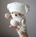 En älskvärd liten nallebjörn Royaltyfria Foton