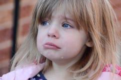 Olycklig girl3 Fotografering för Bildbyråer
