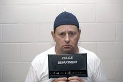 En état de l'arrestation Photo stock