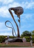 ` En évolution de ` par Andrew Rogers, Hall Park, Frisco, le Texas Images stock