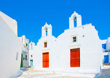 En île d'Amorgos en Grèce image stock