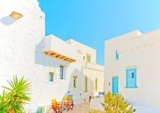 En île d'Amorgos en Grèce image libre de droits