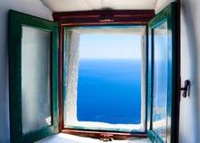 En île d'Amorgos en Grèce Photos stock