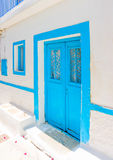 En île d'Amorgos en Grèce Images libres de droits