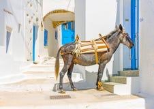 En île d'Amorgos en Grèce Images stock