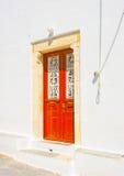 En île d'Amorgos en Grèce Photo libre de droits