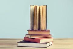 En öppen bok Arkivbild