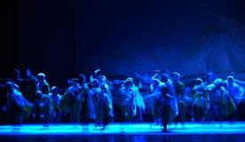 """En överraskningattack på en snöig natt-Peking opera som """"Taking Tiger Montain By Strategyâ € Royaltyfri Foto"""