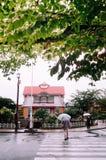 EN σταθμός chofu κρησφύγετων, παλαιό εκλεκτής ποιότητας staion τραίνων σε Ota, Τόκιο, Ja στοκ φωτογραφία με δικαίωμα ελεύθερης χρήσης