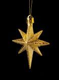 EN χρυσό αστέρι Στοκ φωτογραφία με δικαίωμα ελεύθερης χρήσης