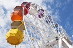 En Барселона колеса Ferris, Испания Стоковые Фотографии RF