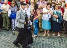 En Мадрид Chulapos стоковое фото