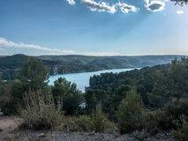 En Провансаль AIX ` proche d Lac Стоковое Изображение RF