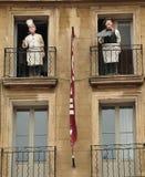 En Провансаль AIX, Франция - 21-ое апреля 2016: cours Mirabeau Стоковое Изображение RF