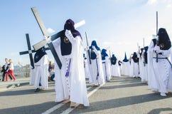 En Севилья святой недели Стоковые Изображения RF