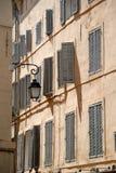 en Франция Провансаль здания AIX Стоковая Фотография RF