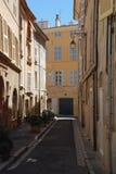 en Франция Провансаль AIX южная стоковая фотография rf