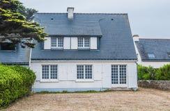En Франция le Морбиана dans Quiberon à Maison de vacances стоковая фотография