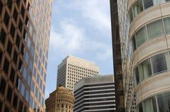 San Francisco skyskrapor Arkivfoto