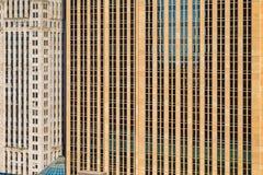 En abstrakt sikt av stadsarkitekturen av Minneapolis, USA Fotografering för Bildbyråer