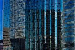 En abstrakt sikt av stadsarkitekturen av Minneapolis, USA Royaltyfri Fotografi