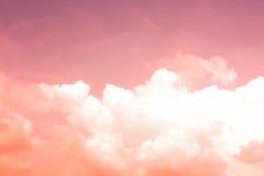 En abstrakt tappninghimmelbakgrund Fotografering för Bildbyråer