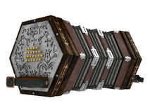 En accordéon Image libre de droits