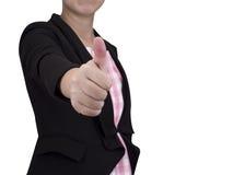 En affärskvinna 11 Arkivbild