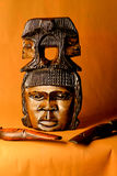 En afrikan Arkivbilder