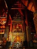 En afton på templet Royaltyfri Fotografi