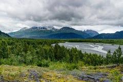 En Alaska los Estados Unidos de América fotografía de archivo libre de regalías
