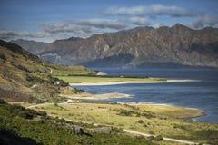 En alguna parte en Nueva Zelandia Fotografía de archivo