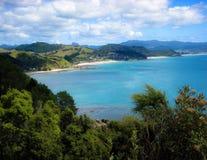 En alguna parte en Nueva Zelandia Imagen de archivo