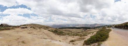 En alguna parte en Perú Imagen de archivo libre de regalías