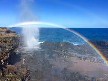En alguna parte sobre el arco iris Imagen de archivo